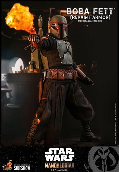 Star Wars The Mandalorian Television Masterpiece Actionfigur 1/6 Boba Fett (Repaint Armor)