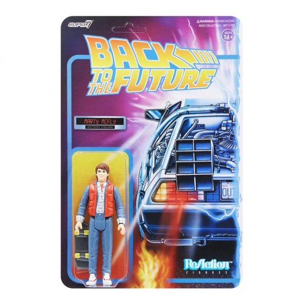 Back to the Future ReAction Actionfigur Marty McFly (1980s)