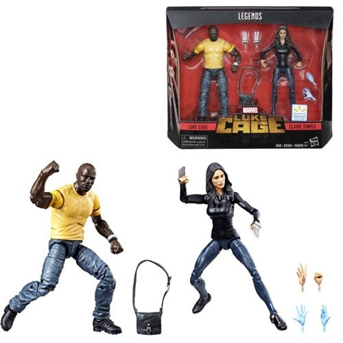 Marvel Legends Actionfiguren Luke Cage & Claire Temple (2-Pack) Exclusive