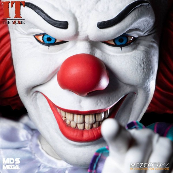 Stephen Kings It 1990 MDS Series Sprechende Actionfigur Pennywise (Deluxe)