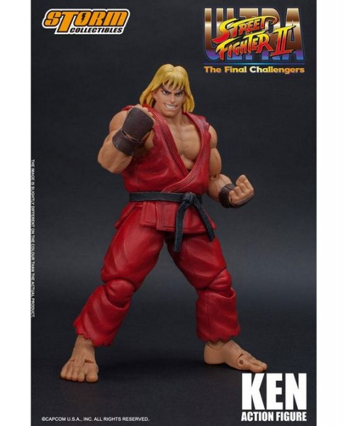 Ultra Street Fighter II: The Final Challengers Actionfigur 1/12 Ken