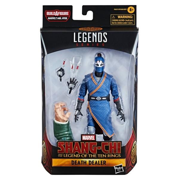 Shang-Chi Marvel Legends Actionfiguren-Set Wave 1 Mr. Hyde (6)