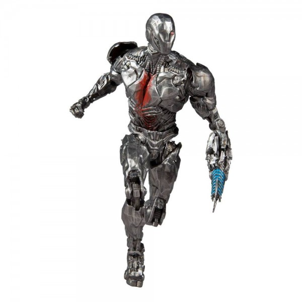 DC Multiverse Actionfigur Cyborg (Helmet) (Justice League Movie)