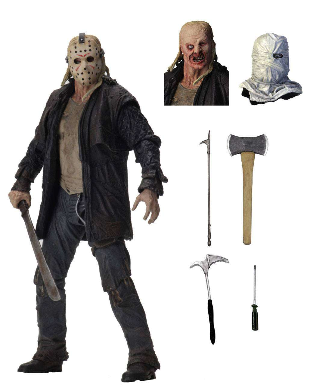 Friday The 13th 2009 Ultimate Action Figure Jason Actionfiguren24 Collector S Toy Universe