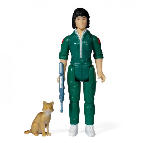 Aliens ReAction Actionfigur Ripley with Jonesy