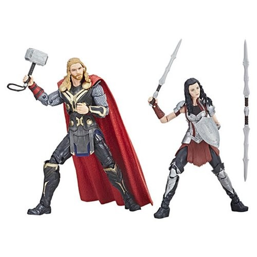Marvel Legends Cinematic Universe 10th Anniversary Actionfiguren Thor & Sif (2-Pack)