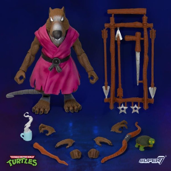 Teenage Mutant Ninja Turtles Ultimates Actionfigur Splinter