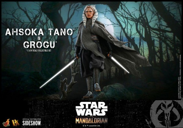 Star Wars The Mandalorian Television Masterpiece Actionfigur 1/6 Ahsoka Tano & Grogu
