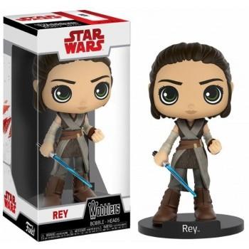 Star Wars Last Jedi Wacky Wobblers Wackelkopf Rey