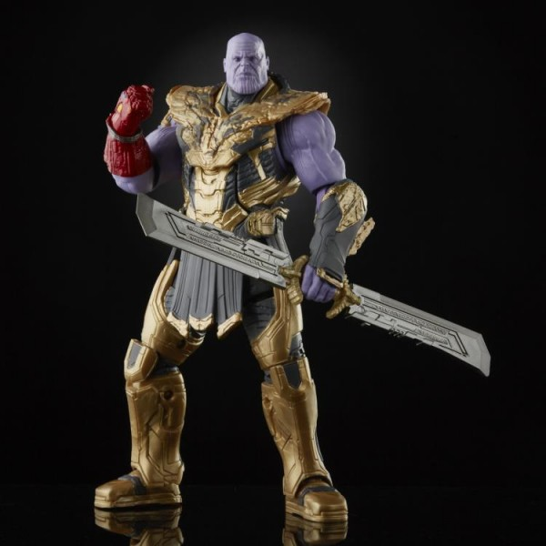 Avengers Endgame Marvel Legends Actionfiguren Iron Man 85 vs. Thanos (Infinity Saga)