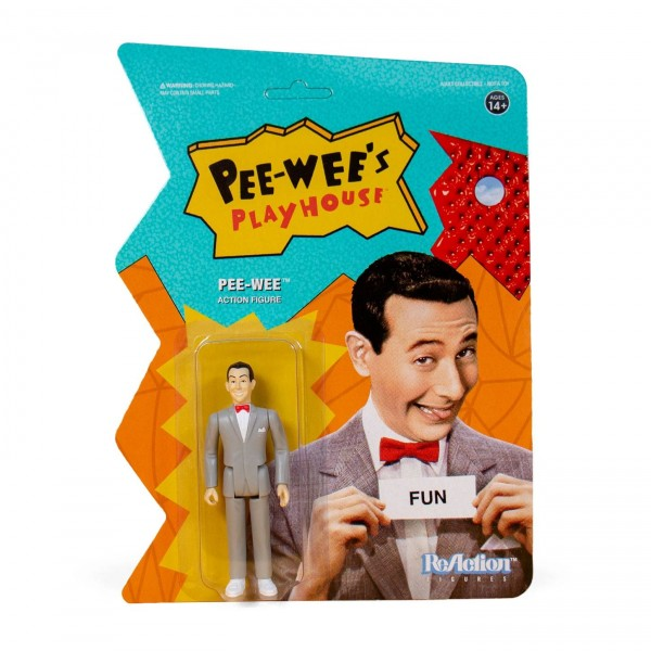 Pee-wee's Playhouse ReAction Actionfigur Pee-Wee