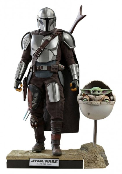 Star Wars The Mandalorian Television Masterpiece Actionfiguren 1/6 The Mandalorian & The Child (2-Pa