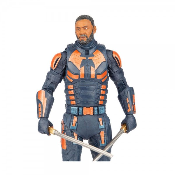DC Multiverse Build A Actionfigur Bloodsport Unmasked (Suicide Squad)
