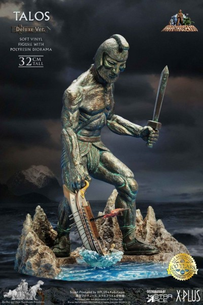 Jason und die Argonauten Soft Vinyl Statue Ray Harryhausens Talos (Deluxe Version)