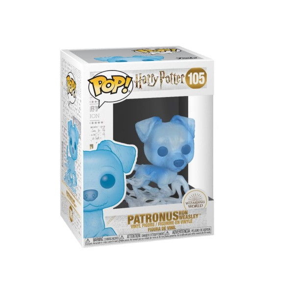 Harry Potter Funko Pop! Vinylfigur Patronus Ron 105