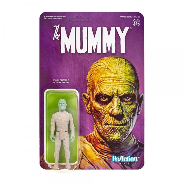 Universal Monsters ReAction Actionfigur The Mummy