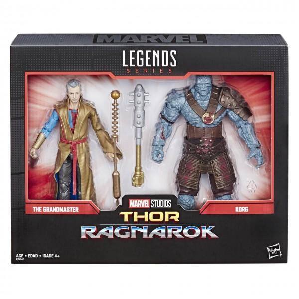 Thor Ragnarok Marvel Legends 80th Anniversary Actionfiguren Grandmaster & Korg (2-Pack)