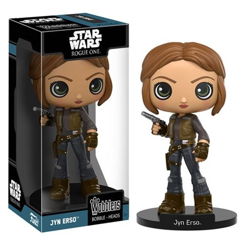 Star Wars Rogue One Wacky Wobblers Wackelkopf Jyn Erso