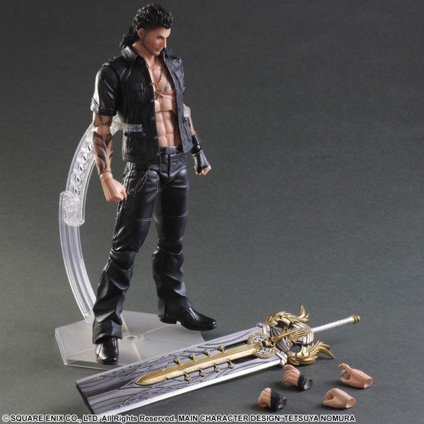 Final Fantasy XV Play Arts Kai Actionfigur Gladiolus