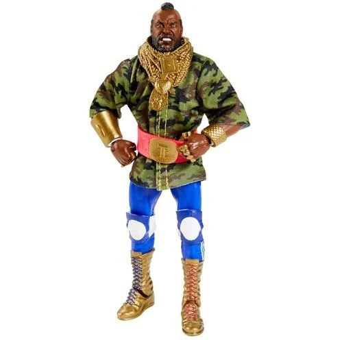 WWE Elite Collection Actionfigur Mr. T (SDCC Exclusive)