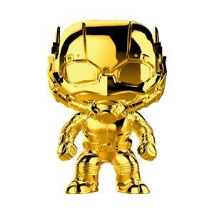 Marvel Studio's 10th Anniversary Funko Pop! Vinylfigur Ant-Man (Gold Chrome) 384