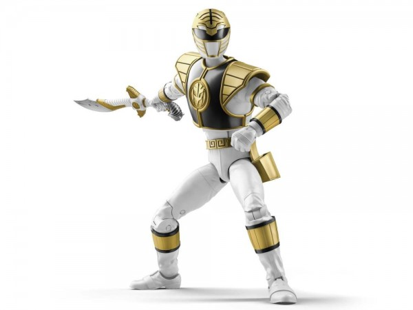 Power Rangers Lightning Collection Actionfigur 15 cm Mighty Morphin White Ranger