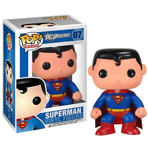DC Funko Pop! Vinylfigur Superman 07