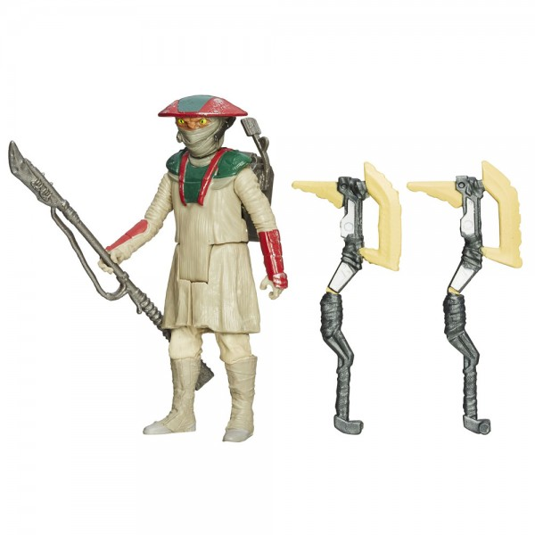 Star Wars Force Awaken Snow/Desert 10 cm Actionfigur Constable Zuvio (VII)