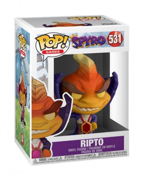 Spyro The Dragon Funko Pop! Vinylfigur Ripto 531