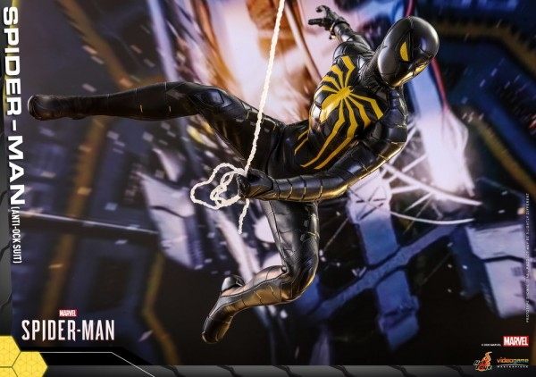 Spider-Man Video Game Masterpiece Actionfigur 1/6 Spider-Man (Anti-Ock Suit)