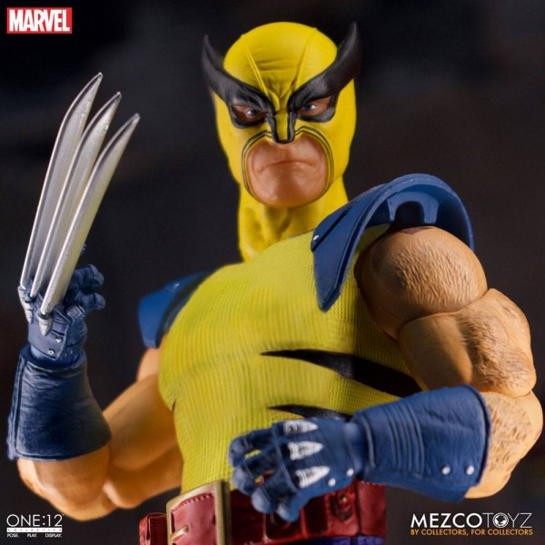 Marvel ´The One:12 Collective´ Actionfigur 1/12 Wolverine (Deluxe Steel Box Edition)