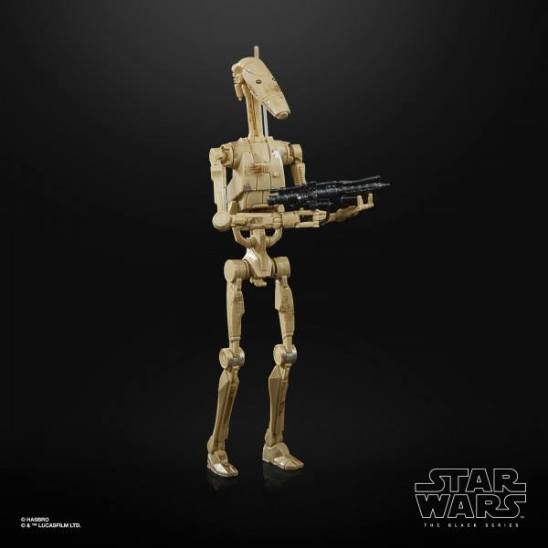 Star Wars Black Series 50th Anniversary Lucas Film Actionfigur 15 cm Battle Droid (Exclusive)
