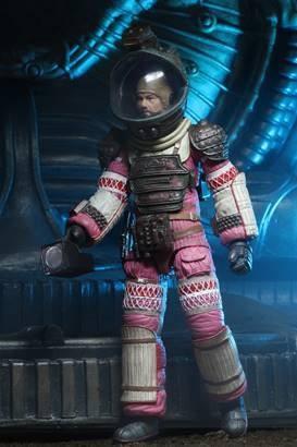 Alien 40th Anniversary Actionfigur Dallas (Compression Suit)