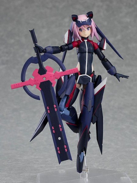 Alice Gear Aegis Figma Actionfigur Yotsuyu Hirasaka Brave