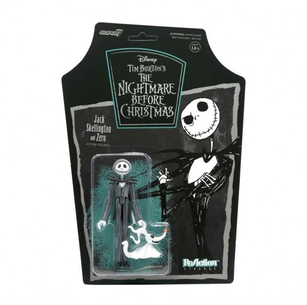 Nightmare before Christmas ReAction Actionfigur Jack Skellington