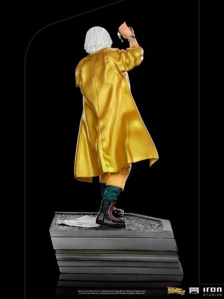 Zurück in die Zukunft II Art Scale Statue 1/10 Doc Brown