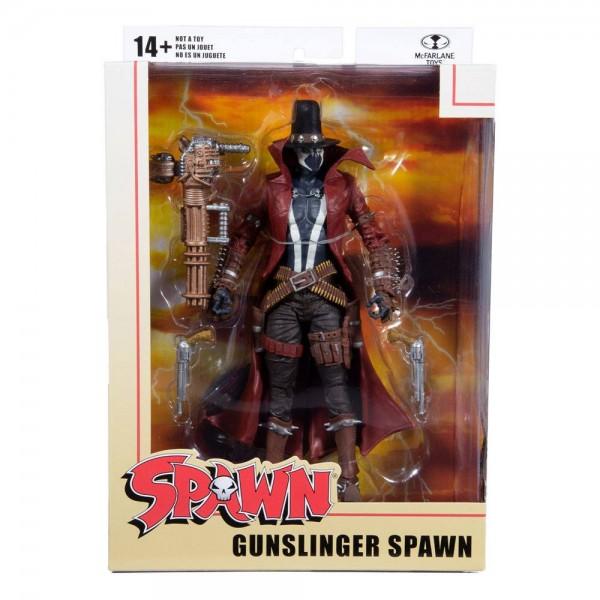 Spawn Actionfigur Gunslinger Spawn (Gatling Gun)