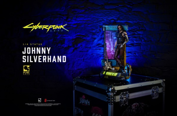 Cyberpunk 2077 Statue 1/4 Johnny Silverhand (Deluxe Edition)