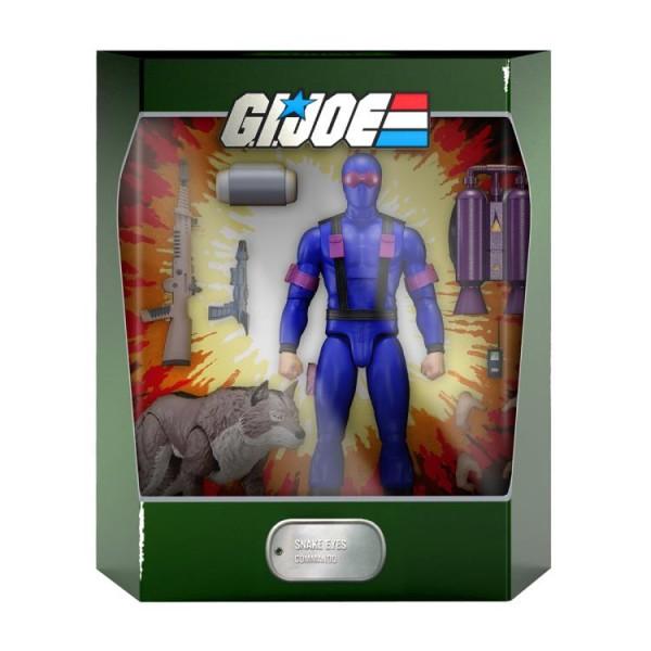 G.I. Joe Ultimates Actionfigur Snake Eyes