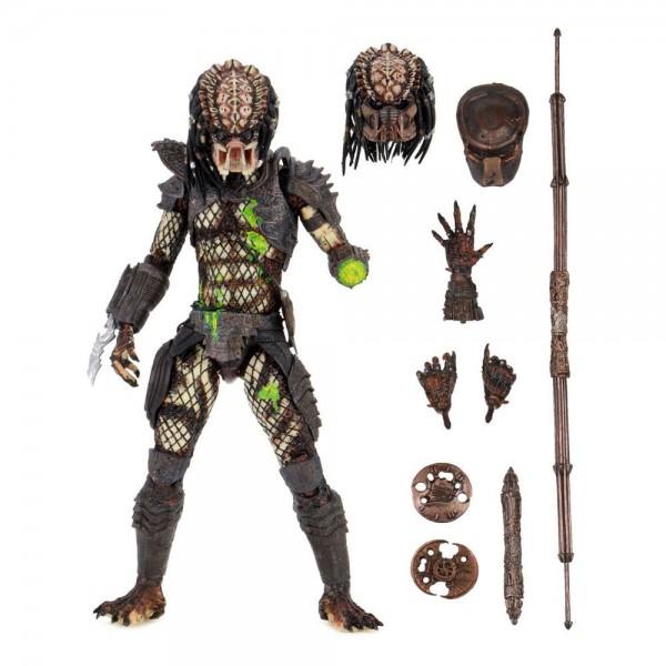 Predator 2 Actionfigur Ultimate Battle-Damaged City Hunter