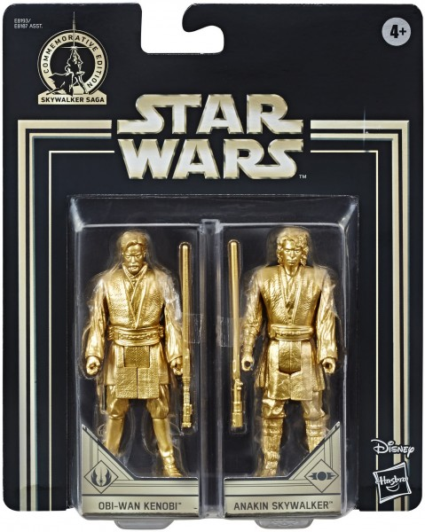 Star Wars Skywalker Saga Actionfiguren 10 cm Obi-Wan Kenobi & Anakin Skywalker (Commemorative Editio