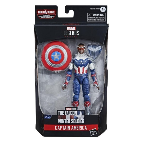Avengers 2021 Marvel Legends Actionfigur Captain America