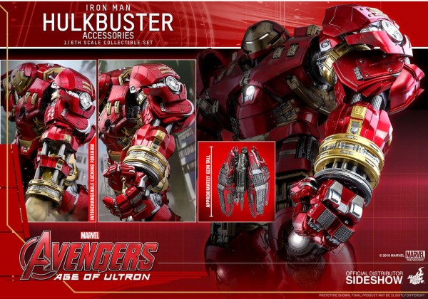 Avengers Age of Ultron Accessories Collection Series Zubehör Hulkbuster