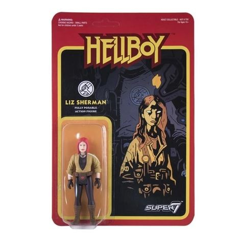 ReAction Hellboy Liz Sherman Action Figure