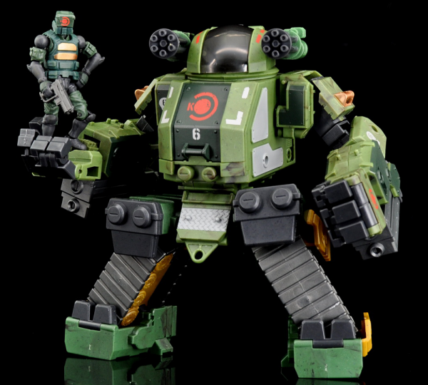 Acid Rain - K6 Jungle Stronghold ST2K 1:28 Set