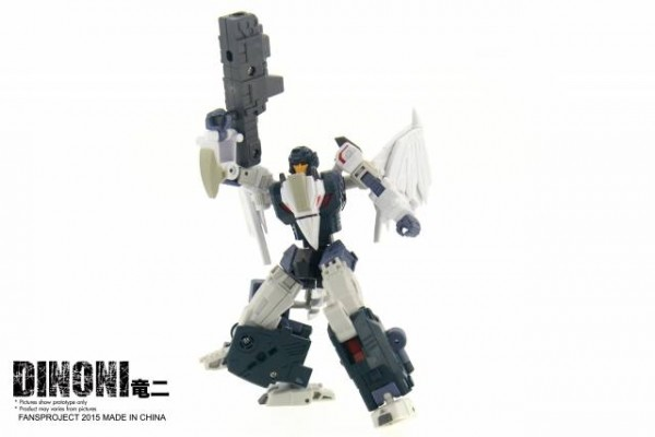 Fansproject Saurus Ryu-Oh Combiner - Dinoni