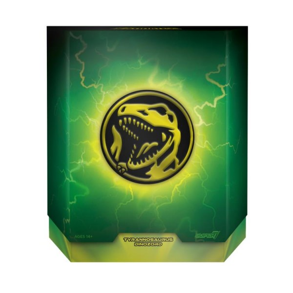 Power Rangers Ultimates Actionfigur Tyrannosaurus Dinozord