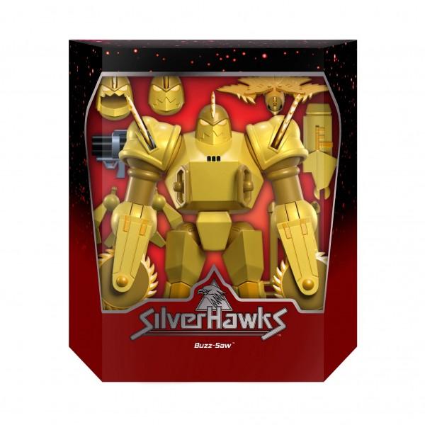 Silverhawks Ultimates Actionfigur Buzz-Saw