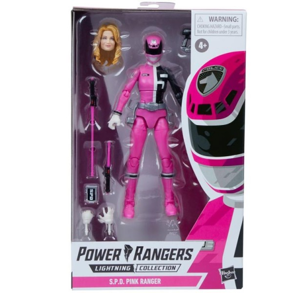 Power Rangers Lightning Collection Actionfigur 15 cm SPD Pink Ranger