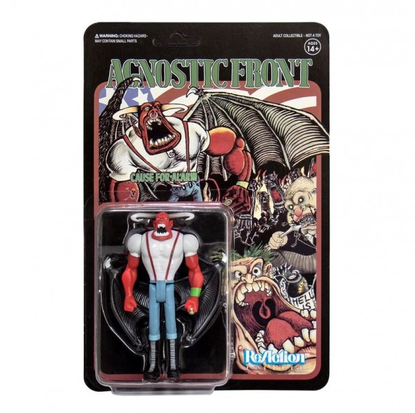 Agnostic Front ReAction Actionfigur Eliminator